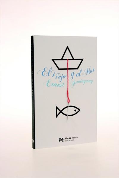 The old man and the sea's Book cover. Frän Alðnssön 2012
