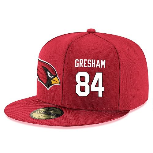 NFL Arizona Cardinals #84 Jermaine Gresham Stitched Snapback Adjustable Player Hat - Red/White