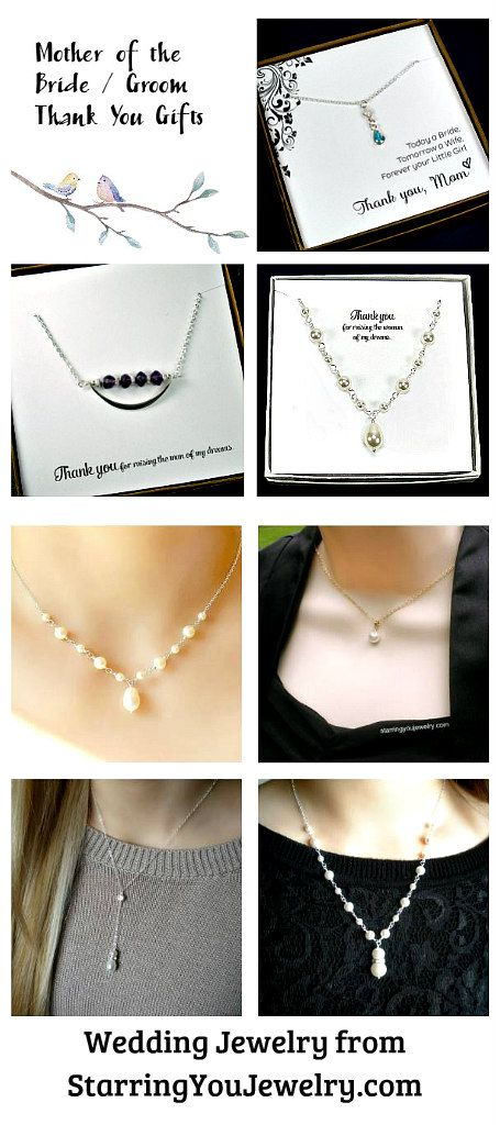 Our custom wedding jewelry is perfect for wearing on your special day! They also make great thank you gifts for the bridal party.  StarringYouJewelry.com