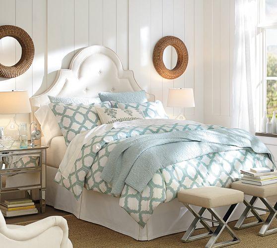 Molly Trellis Organic Duvet Cover Sham Pottery Barn Master Bedroom Pinterest White