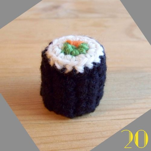 Still Vauriens » Tuto: La dinette en crochet #20 Les sushis