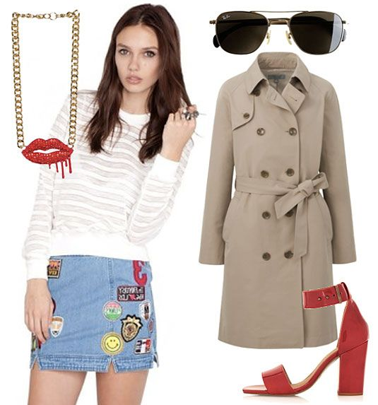 7 Ways To Wear Super Short Skirts Without Tights