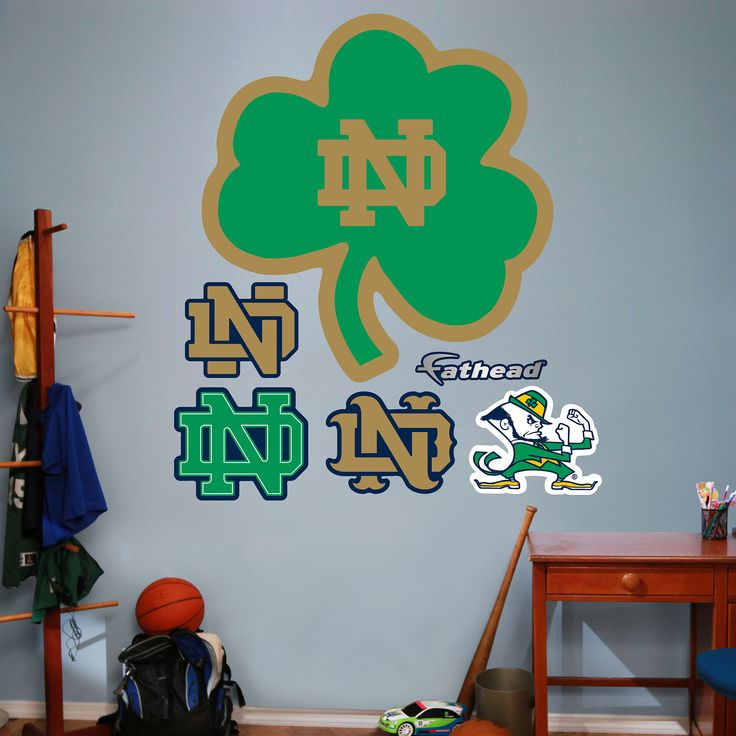 Wonderful Put Your Passion On Display With A Giant Notre Dame Fighting Irish   Green