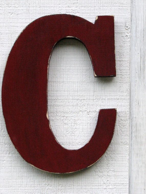 wooden letters shabby chic letter c big wooden lettersinitals nurserycabin