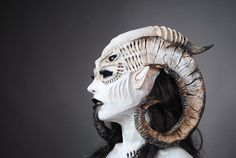 Demon/Satanic special effect makeup. Perfection.