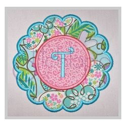 Scalloped Circle Applique Frame - 7 Sizes! | Featured Products | Machine Embroidery Designs | SWAKembroidery.com