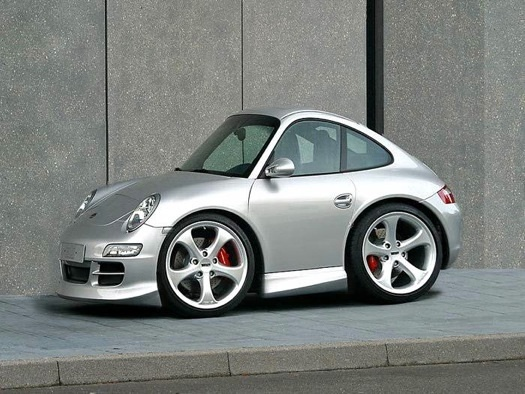 Watch out Smart cars here comes smart porsche!!!lol