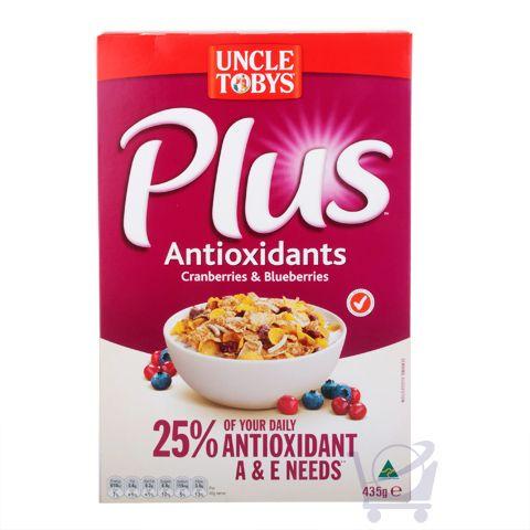 Uncle Tobys Plus Antioxidant Cereal – Uncle Tobys 435g | Shop Australia
