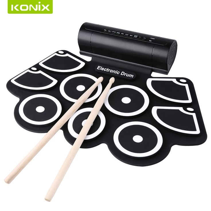 56.00$  Watch more here - http://aixfs.worlditems.win/all/product.php?id=32797306166 - store online   Roll up electronic drum set  with     perfect  musical  feeling