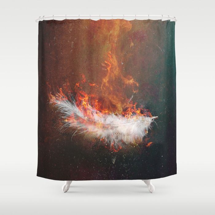 Icarus Shower Curtain by HappyMelvin   Society6