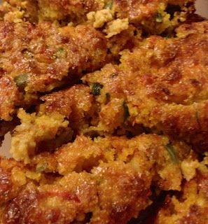 Cajun Crawfish Cornbread