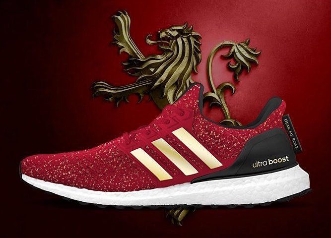 MORE GAME OF THRONES ADIDAS ULTRA BOOST FOR 2019 | Celebrity