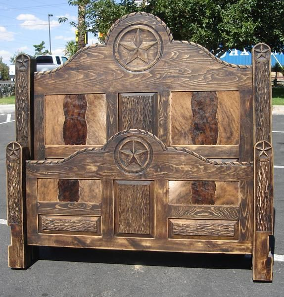 Images Of Rustic Cowhide Bedroom Furniture | Bedroom Furniture. Western ...