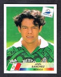 Image result for france 98 panini mexico sanchez