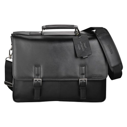 Custom Kenneth Cole Manhattan leather computer messenger bags are classy promotional gifts for any business that wants to acknowledge its hard working and traveling salesmen, employees and customers. Made of genuine leather these compu messenger bags f