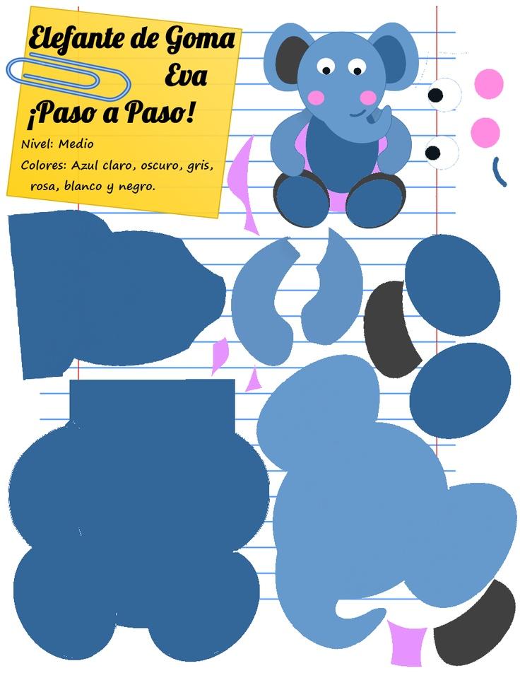 599 best images about goma eva foami microporoso foam - Plantillas goma eva ...