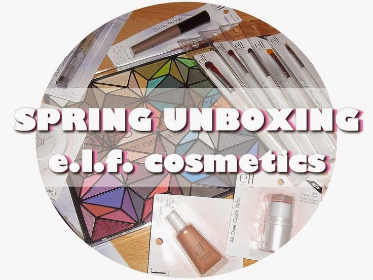 Gate to Neverland: Spring unboxing / Haul - e.l.f. cosmetics
