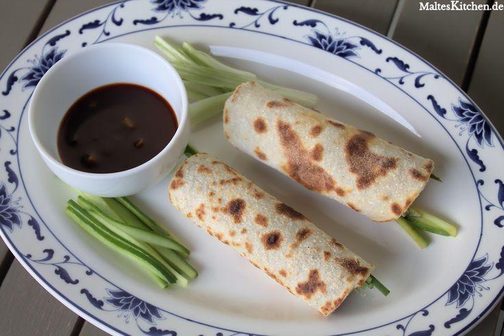 Mandarin-Pfannkuchen für Peking Ente