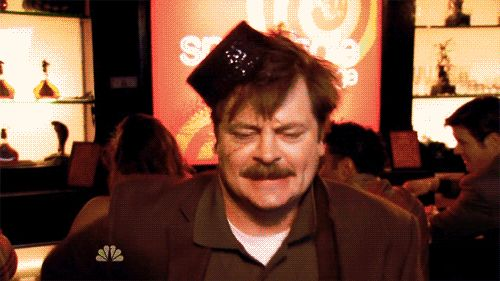 Dance as if you've just won the bacon lottery. | 27 Ways To Be As American As Ron Swanson  I love Ron Swanson from Parks and Recreation!