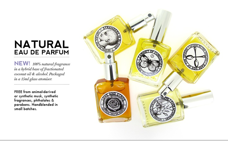 new natural eau de parfum sprays