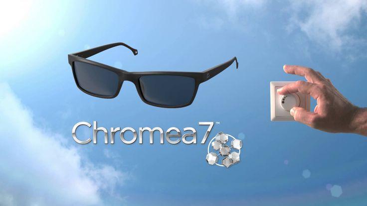 Crizal Transitions Signature New! Lensa adaptif terbaik dengan menggunakan teknologi Chromea7 sehingga lebih responsif pada perubahan warna.
