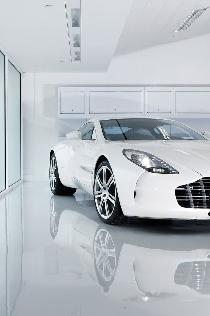 Aston Martin One-77. This is what love looks like. I'm not into white cars but I'd give up my 1st born for this.