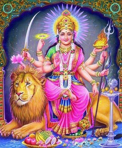 Maa Durga,most worshiped Hindu Godess