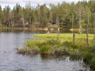 UKK route, Reindeer park – Siskelilampi – Aihkipetsi 11.3 km. One-day trip or part of a multiple-day trip. Difficulty classification: moder...