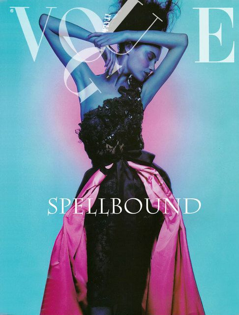 Shalom Harlow by Nick Knight for Vogue