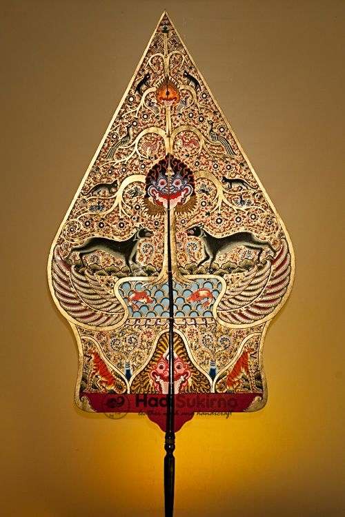 The inspiration of the stage design is Gunungan Wayang (Javanese ...