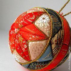 Nowy Rok 2015 ręcznie.  Fair Masters - ręcznie Jesień w Kioto - Christmas ball kolekcji kimekomi kimekomi.  Ręcznie.
