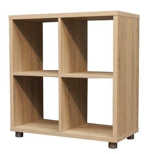 Tenzo 1824 050 Box Designer Room Divider 2 X 2 Particle
