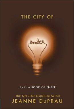 The City of Ember [Books of Ember Series #1] - In the city of Ember, twelve-year-old Lina trades jobs on Assignment Day to be a Messenger to run to new places in her decaying but beloved city, perhaps even to glimpse Unknown Regions.