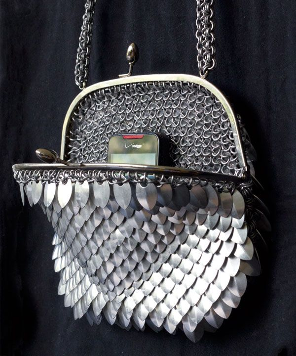 CHAINMAIL PURSE 3: SCALES