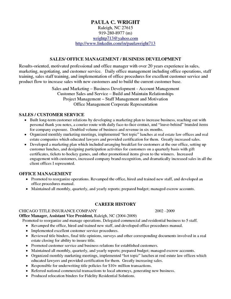 Professional Profile Resume Examples. Resume Professional Profile Examples