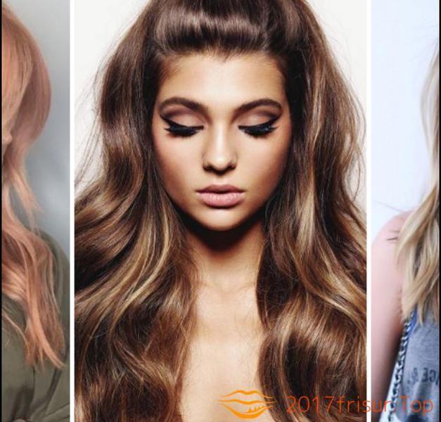 Haarfarben Trends Herbst 2019 Haarschnitte Und Frisuren Trends 2018 Einfache Frisuren Fur Langes Haar Haarfarben Lange Haare