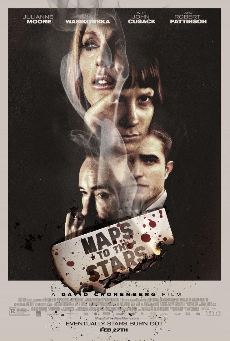 Maps to the stars, David Cronenberg, 2014, John Cusack, Mia Wasikowska, Julianne Moore, Robert Patinson, Carrie Fisher, Olivia Williams