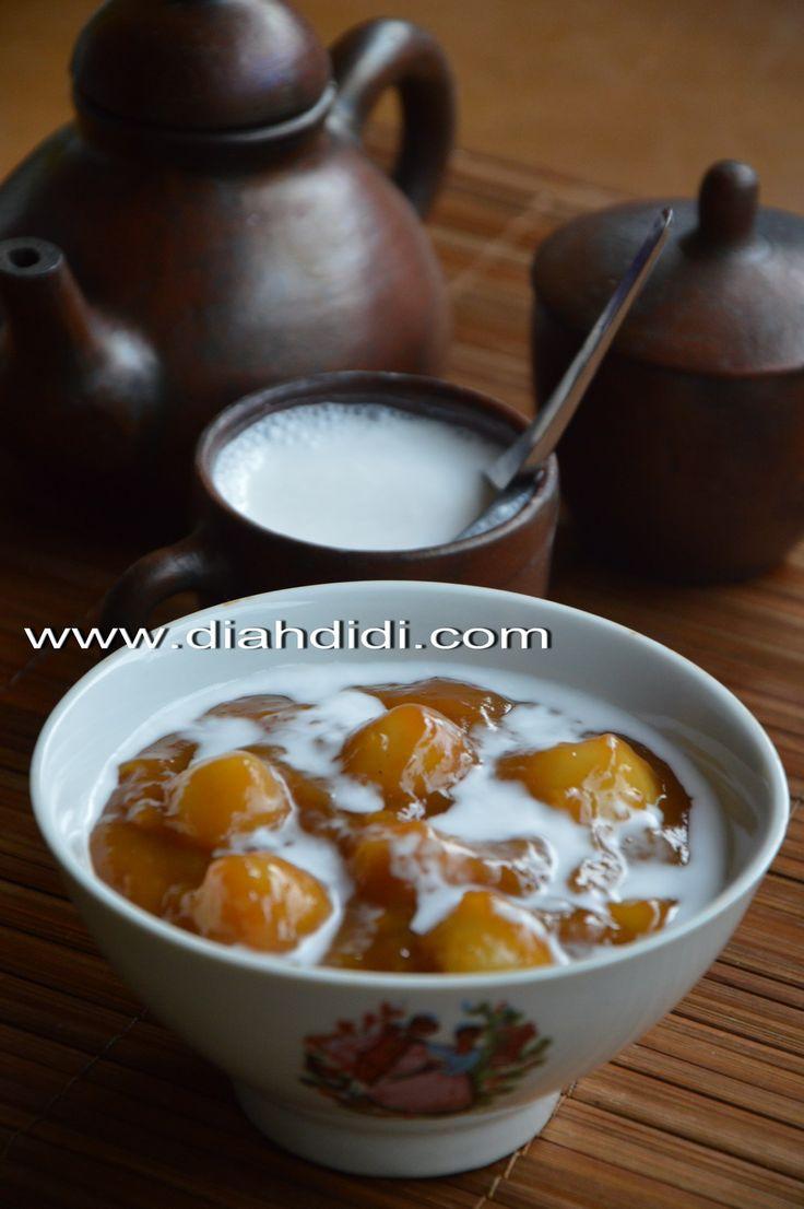 Diah Didi's Kitchen: Bubur Candil Ketan