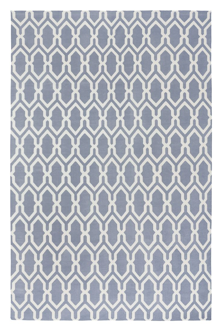 Jali Dove by The Rug Company | Cotton Studio Collection Rugs and Flatweaves