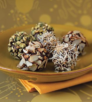 Ice Cream Truffles Recipe-can use any flavor and additions to make a variety   | Epicurious.com