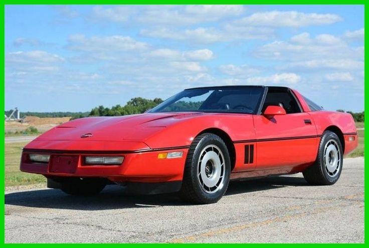 Chevrolet: Corvette Base Hatchback 2-Door 1984 chevy corvette red t tops clean no reserve