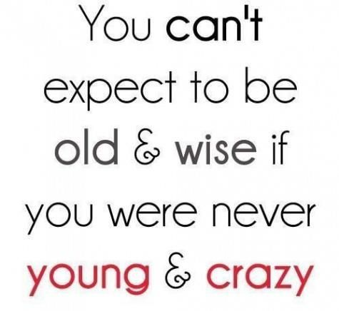 Be Proud Of Your Young, Craziness