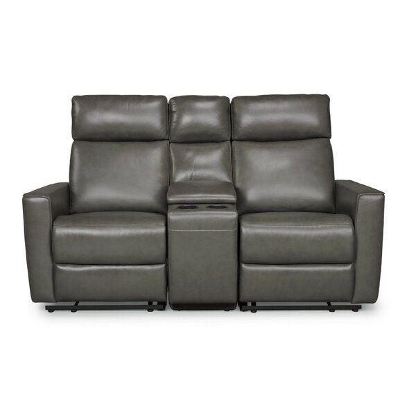 Pell Genuine Leather Reclining 67 Square Arm Loveseat Love Seat Leather Reclining Loveseat Home Styles