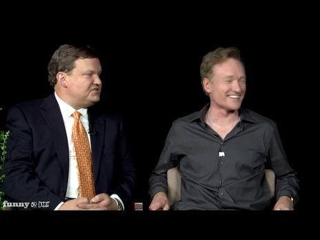 Between Two Ferns with Zach Galifianakis: Conan O'Brien & Andy Richter #funny