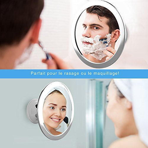 Mais de 1000 ideias sobre miroir maquillage no pinterest for Miroir de douche