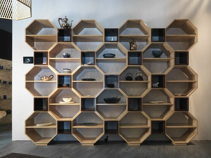 Wall-mounted modular bookcase Pandora Collection by Bizzotto | design Tiziano Bizzotto.  Please contact Avondale Design Studio for more information on any of the products we highlight on Pinterest.