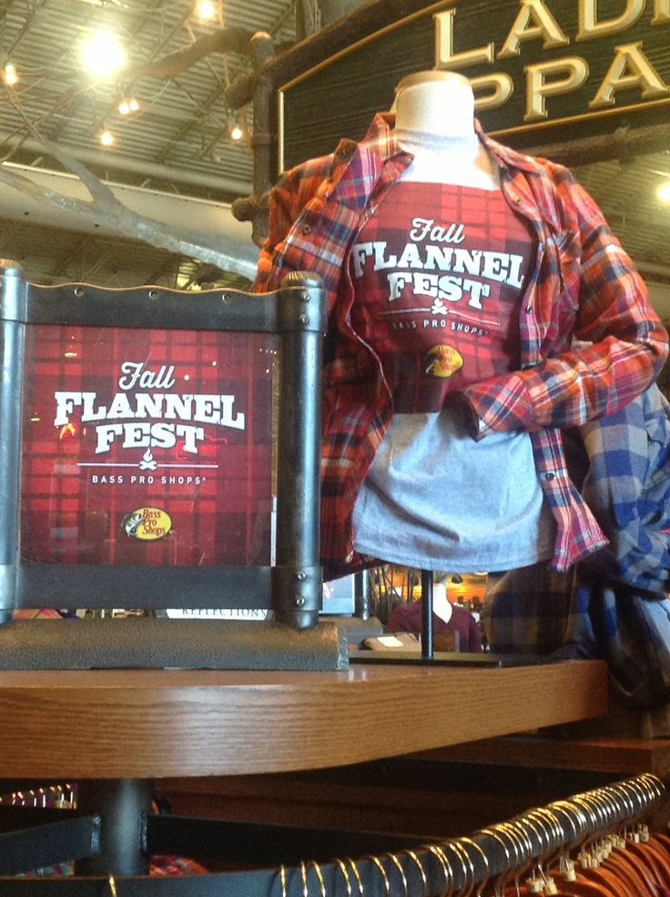 Come experience Fall Flannel Fest. Only at Bass Pro Shops! #FlannelFest