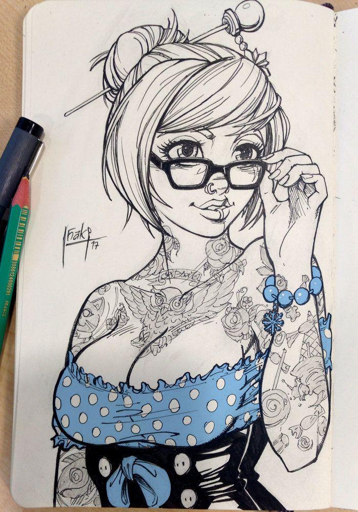 Mei Sketch Por Muglo Videojuegos Dibujandonet Dibujandonet