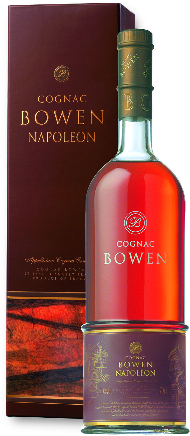 Bowen Napoleon Cognac is a mature cognac that has been aged in oak barrels for at least six years