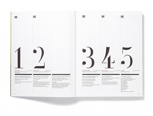 71 best table of contents images on Pinterest Editorial design